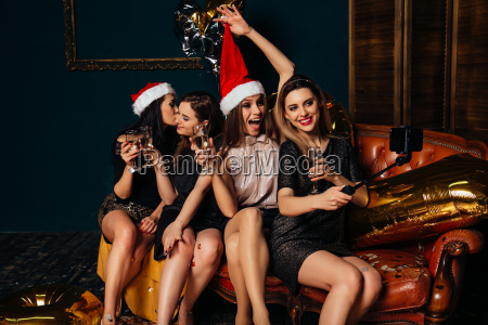 girls, taking, selfie, and, have, fun - 23444065