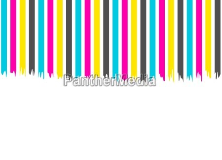 insulated color stripes blue pink yellow