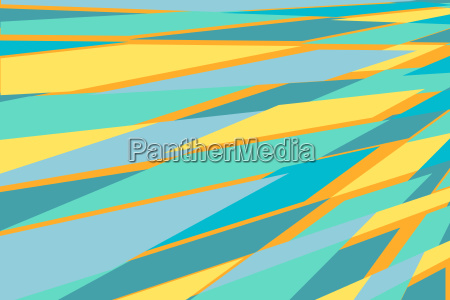 blue yellow abstract geometric background
