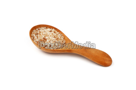 close up wooden spoon of smoked