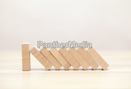 the domino effect stopped by a
