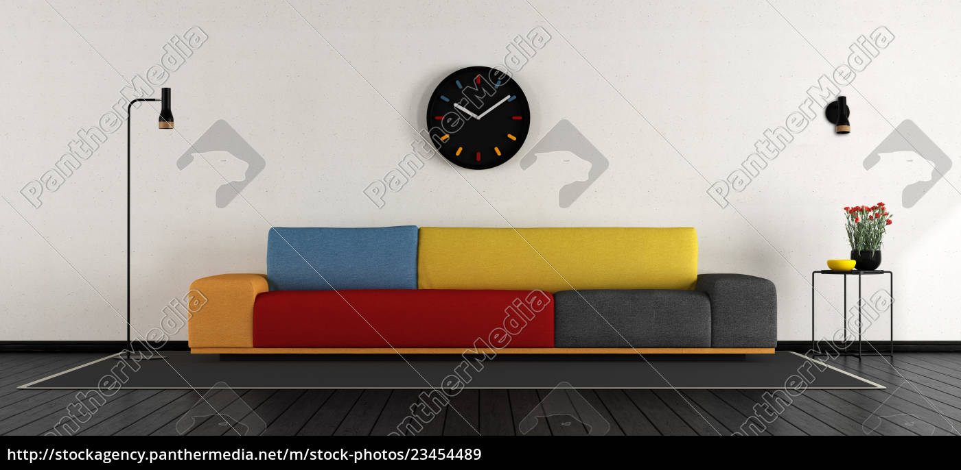 colorful, living, room - 23454489