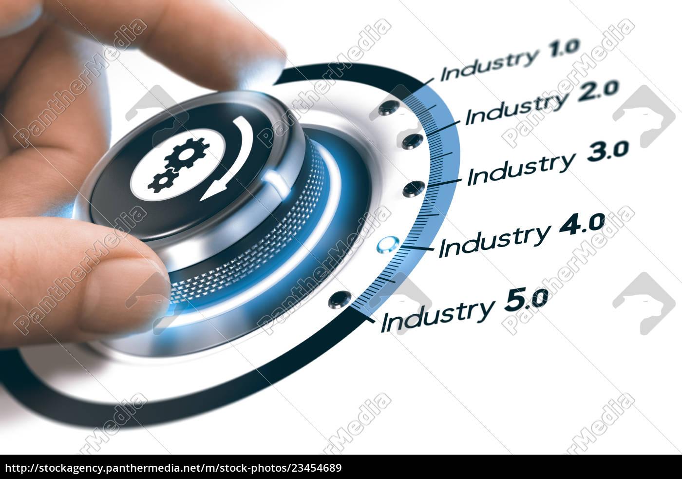 industry, 4.0, , next, industrial, revolution - 23454689
