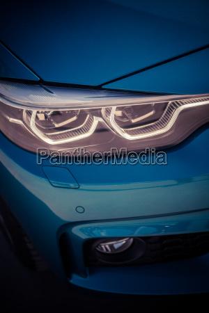 led automobile headlights