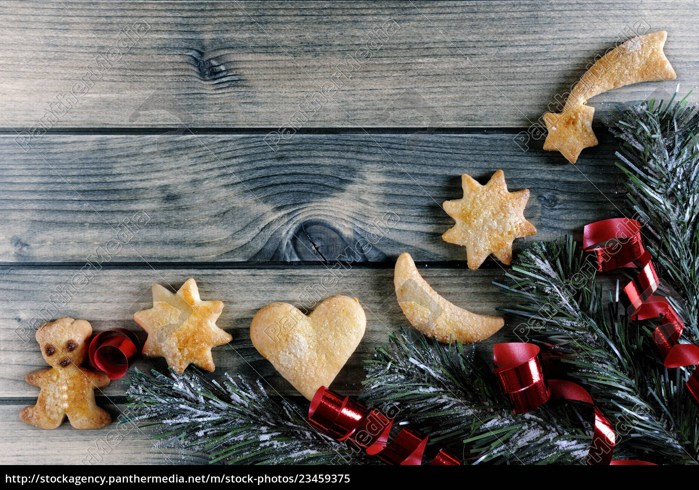 decoration, with, cookies, for, christmas, and - 23459375