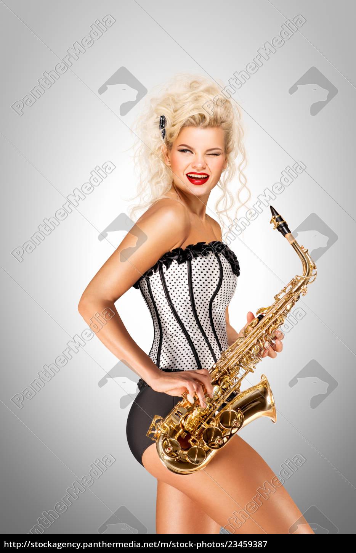 playing, jazz. - 23459387