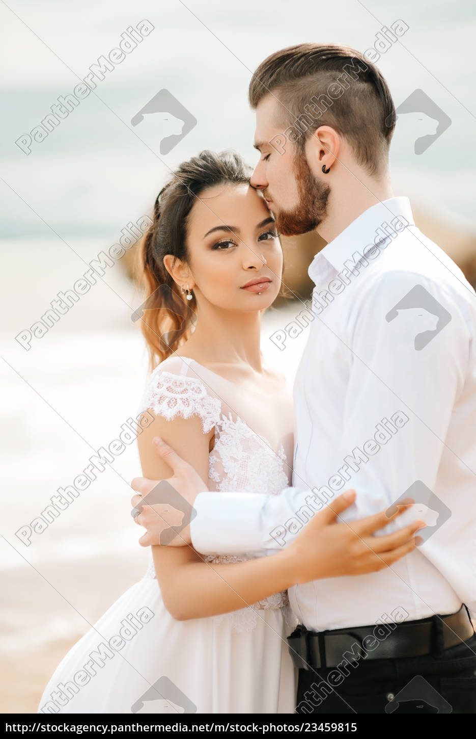 young, couple, groom, with, the, bride - 23459815