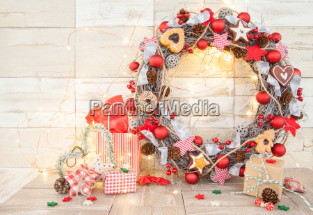 colorful decoration for christmas