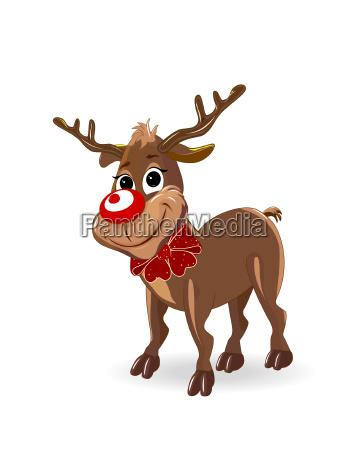 deer with a bow