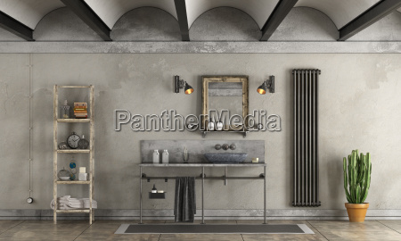 bathroom, in, industrial, style - 23462351
