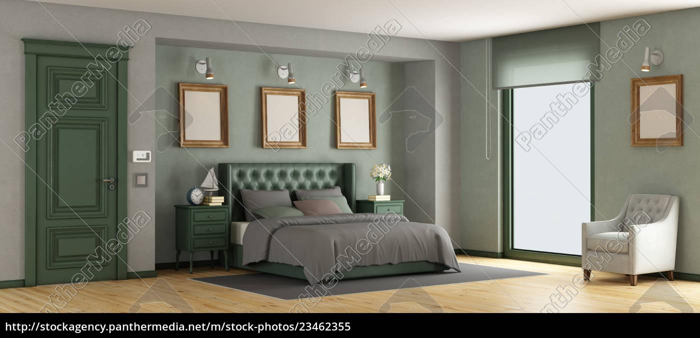green, classic, master, bedroom - 23462355