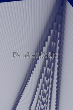 3d illustration of a structure consisting