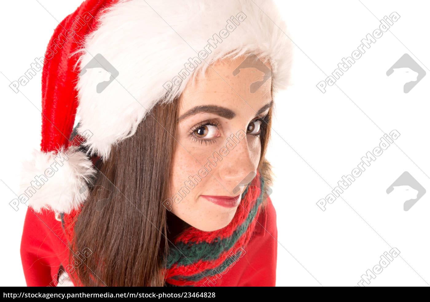 girl, in, christmas - 23464828