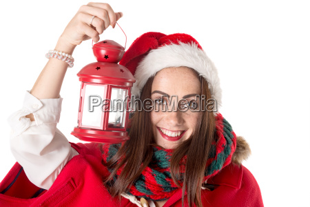 girl, in, christmas - 23464846