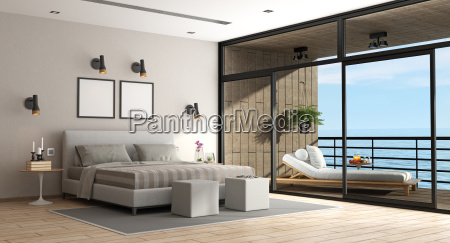 large master bedroom of an holiday