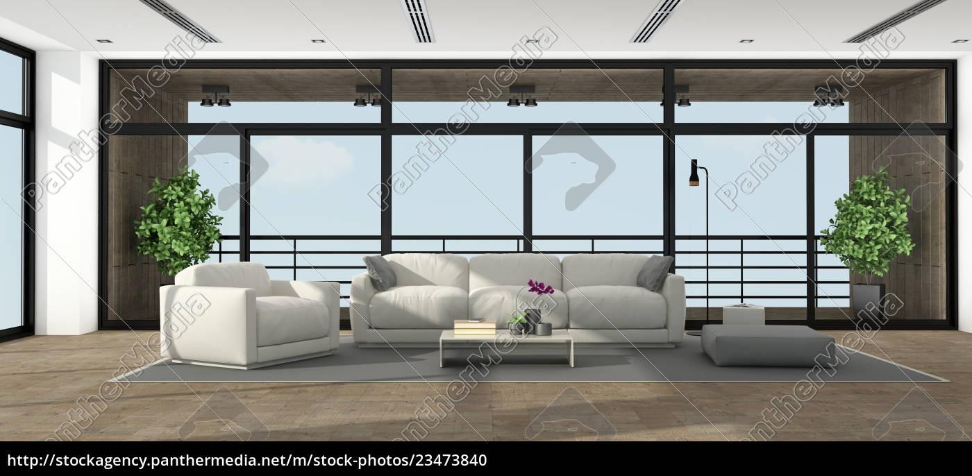 large, minimalist, living, room - 23473840