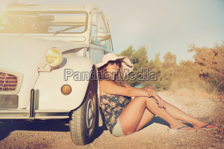 girl, on, vacations - 23474303