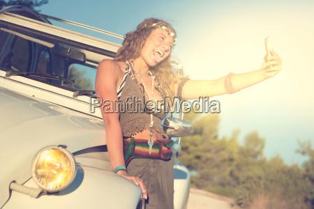 girl, taking, a, selfie - 23474305
