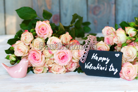 floral greetings for valentines day
