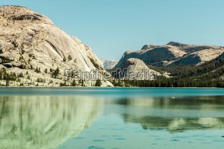 tenaya lake reflections