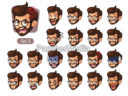 the third set of bearded hipster