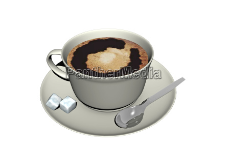 cup of black coffee with crema