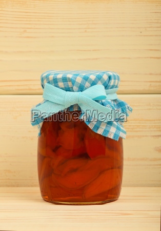 one jar of quince jam over