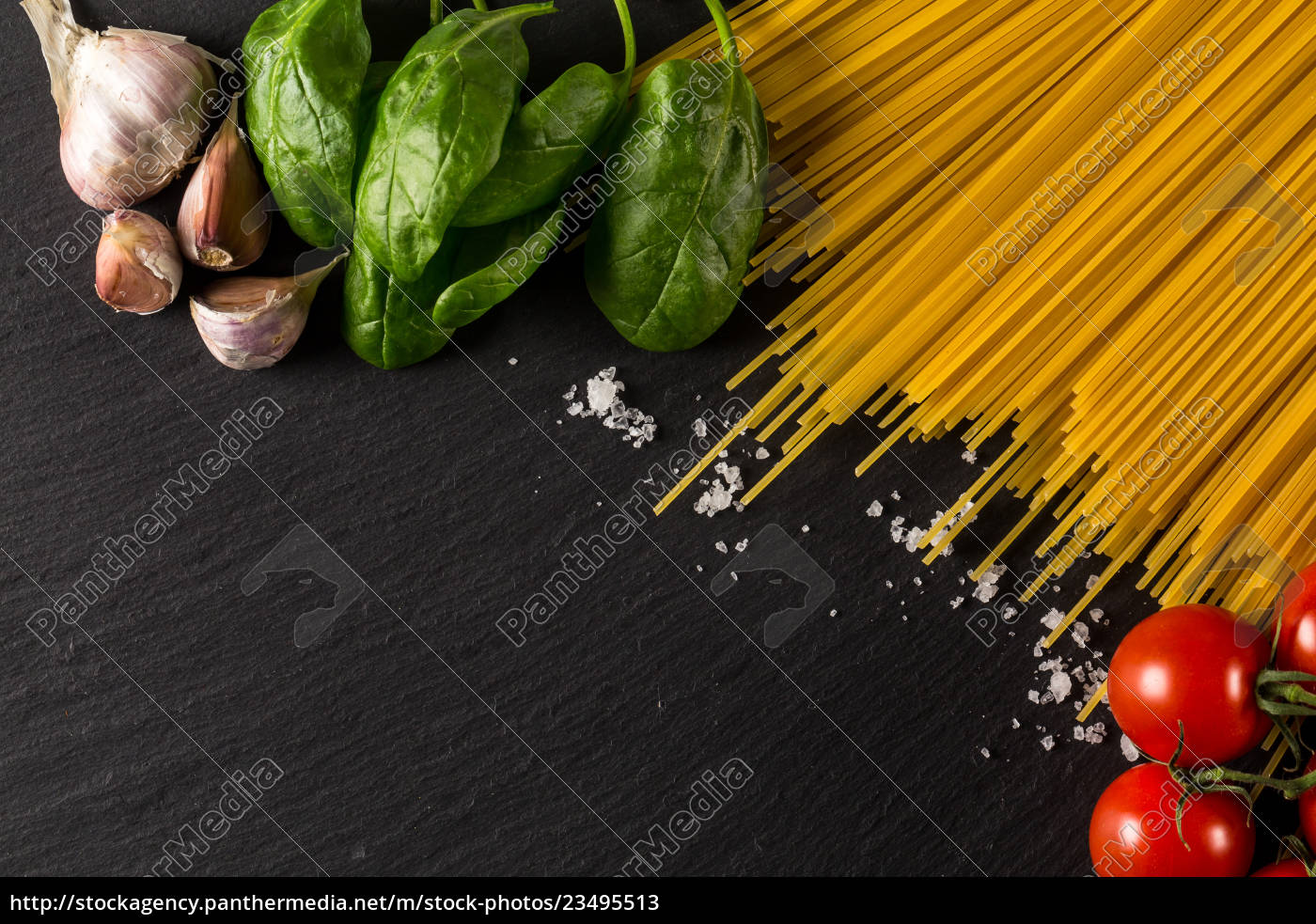 culinary, background, for, pasta, , tomato, , herbs - 23495513