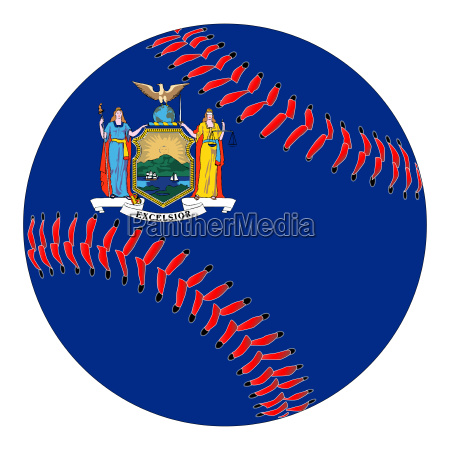 new york flag baseball
