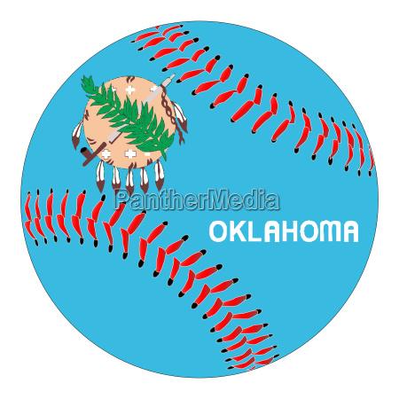 oklahoma flag baseball