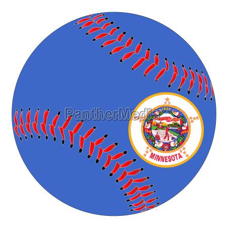 minnesota flag baseball