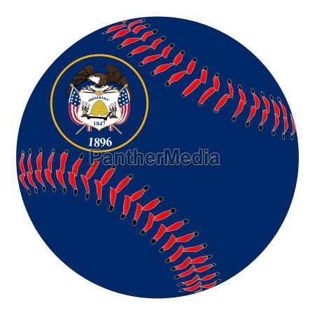 utah flag baseball