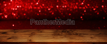 dark background with red bokeh and