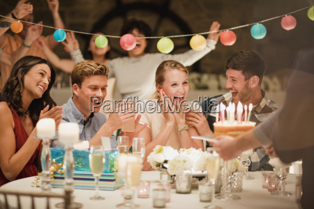 birthday, cake, at, a, party - 23516750