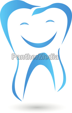 tooth smile laughter tooth dentist logo