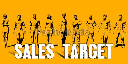 sales target concept