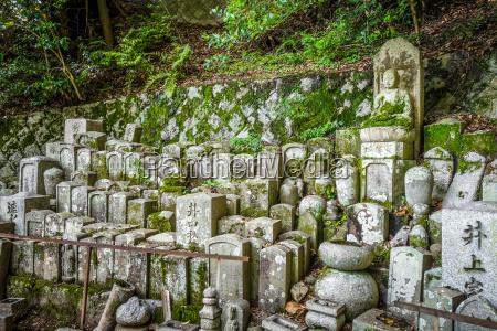 chion in temple garden graveyard kyoto