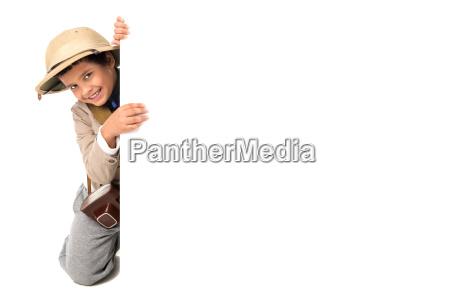 boy, in, safari, clothes - 23550902