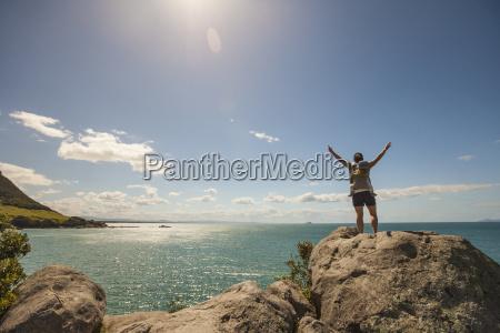 hiking on leisure island bay of