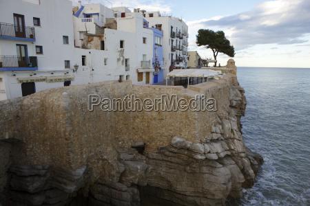 spain province of castellon peniscola costa