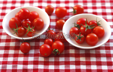 vine tomatoes in bowls