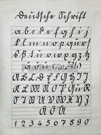 german script