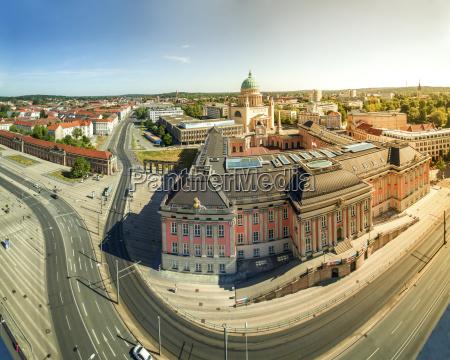 germany potsdam view to city palace
