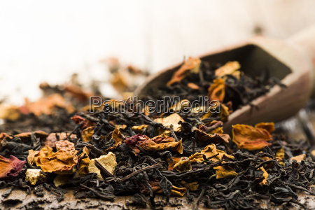mixture for black tea infusion