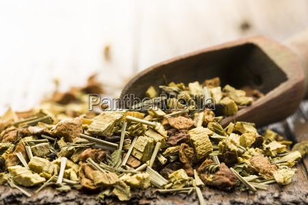 mixture for tea infusion
