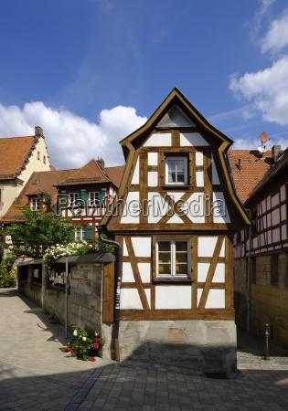 germany bavaria franconia rothenberg house in