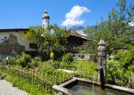 germany upper bavaria garmisch partenkirchen polznkasparhaus