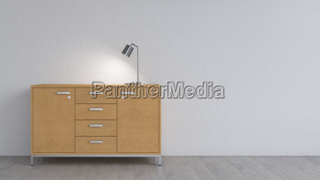 muebles espacio interior ilustracion ver luz