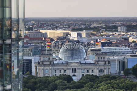 germany berlin view to reichstag seen