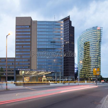 germany berlin potsdamer platz forum tower